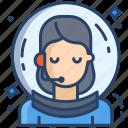 female, astronaut