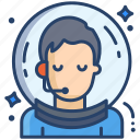 male, astronaut