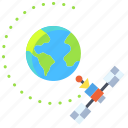 satellite, orbit