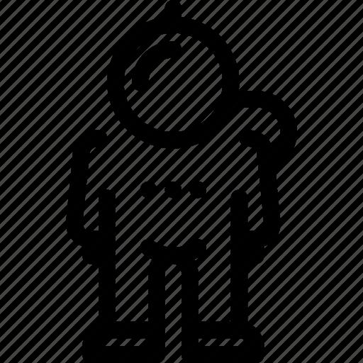armor, astronaut, man, space, suit icon