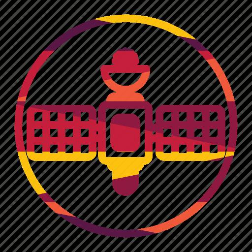 antenna, radar, satellite, technology icon