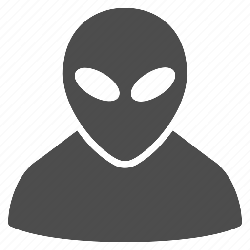 alien, fantasy, humanoid, monster, space creature, ufo, visitor icon