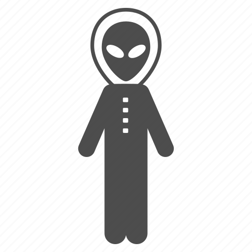 alien, exploration, monster, skafandr, space suit, unknown, visitor icon