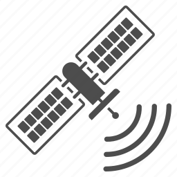 communication, connection, gps signal, satellite, space station, spacecraft, spaceship icon