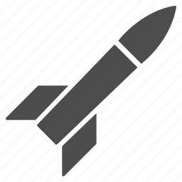 army, flight, launch, military, missile, rocket, weapon icon