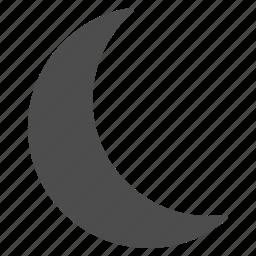 clear night, dream, dreams, moon, muslim, sleep, weather icon