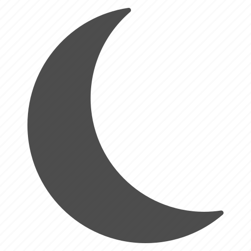 clear night, dream, dreams, moon, muslim, sleep, weather icon