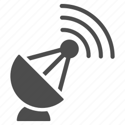 antenna, internet, radio, signal, telescope, transmitter, wireless icon