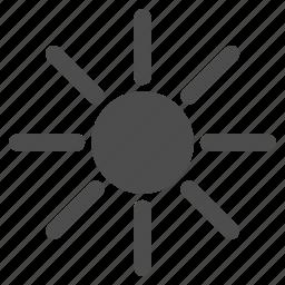 brightness, light, star rays, summer, sun, sunny, sunshine icon