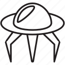 astrology, fiction, science, search, space, spaceship icon
