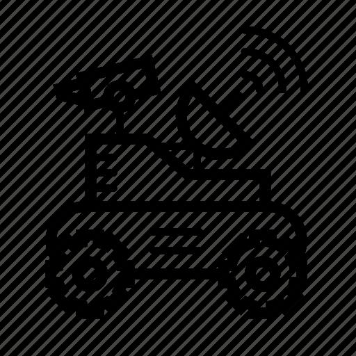 lunar rover, lunar vehicle, moon rover, moon-robot, moonwalker, moonwalker robot icon