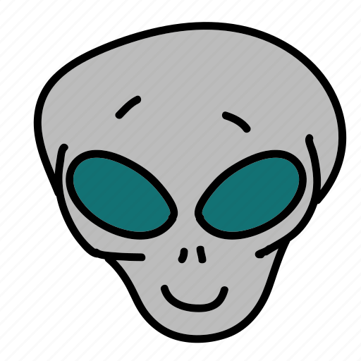alien, fiction, movie, science, space icon