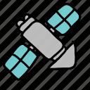 satellite, signal, space, tv icon