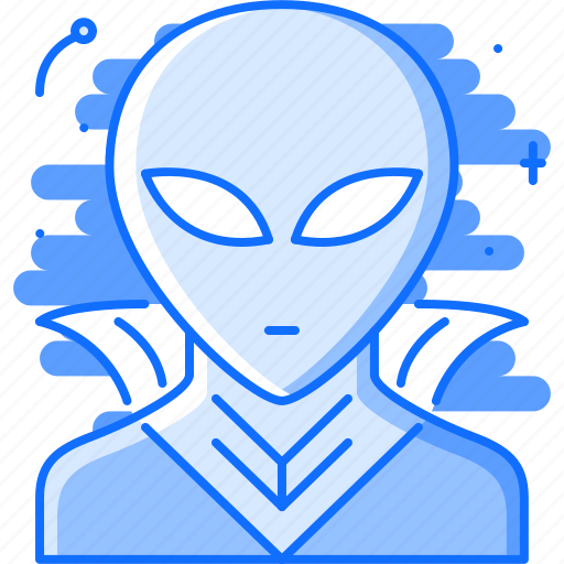 alien, astronomy, cloak, discovery, space, star icon