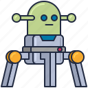 alien, android, cyborg, robot, robotic, technology icon
