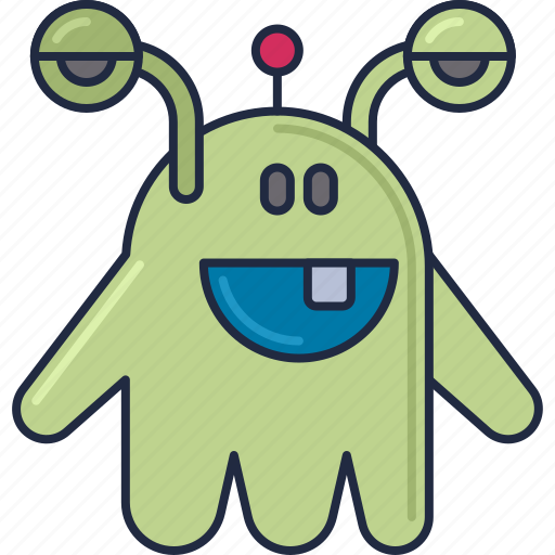 Alien, species, creature, monster icon - Download on Iconfinder
