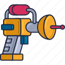 alien, alien weapon, laser gun, space gun, space weapon, weapon icon