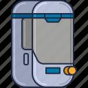 chamber, cyrogenic, cyrogenic chamber, hypersleep, space chamber icon