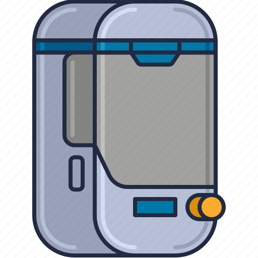 Chamber, cyrogenic, cyrogenic chamber, hypersleep, space chamber icon - Download on Iconfinder