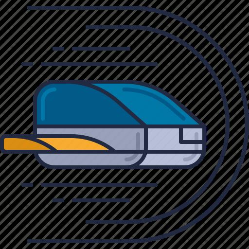 hovership, light speed, light speed travel, spacecraft, spaceship, time jump icon
