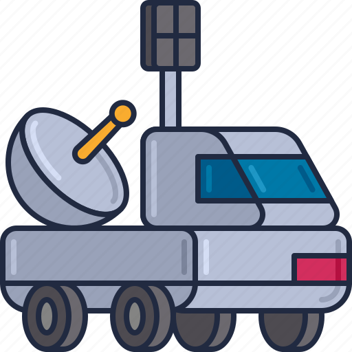 Moon, rover, moon rover, space vehicle icon - Download on Iconfinder