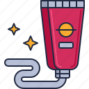 cream, food tube, lotion, space food, squeeze tube icon