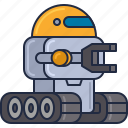 robonaut, robot, robotic, space robot icon