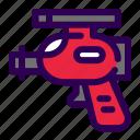 gun, alien, pistol, space icon