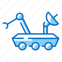 buggy, lunar, robot, rover, space, vehicle icon