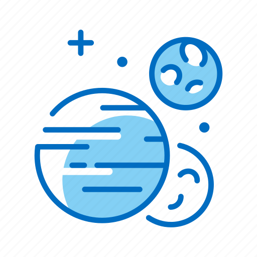 astronomy, cosmos, galaxy, planet, planets, space, universe icon