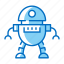 android, droid, robot, space icon