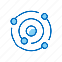 astronomy, solar, space, system, universe icon