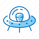 alien, invader, space, spaceship, ufo icon