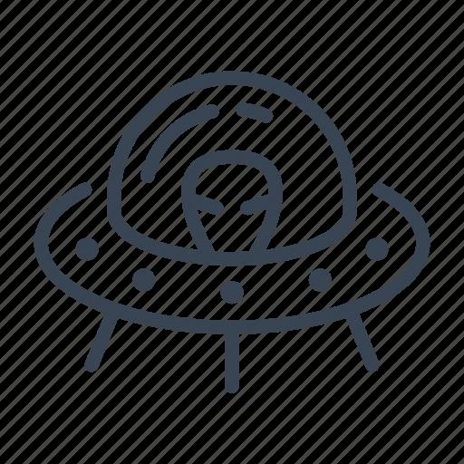 alien, invader, space, spaceship, ufo icon