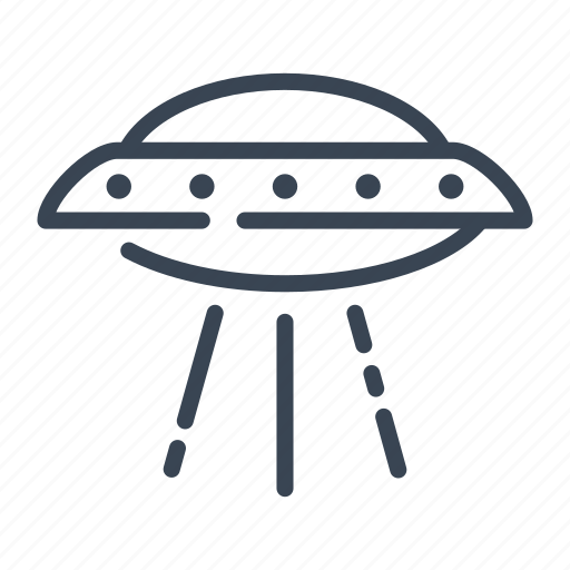 alien, fiction, science, ship, space, spaceship, ufo icon