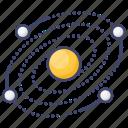 galaxy, milkyway, universe icon