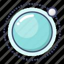 orbit, planet, satellite icon