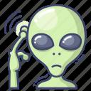 alien, space, ufo icon