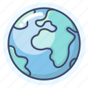 earth, global, planet, world icon