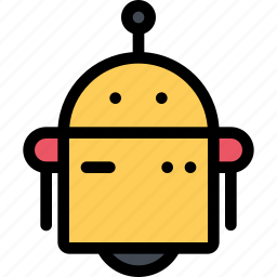 astronaut, future, planet, robot, science, space icon