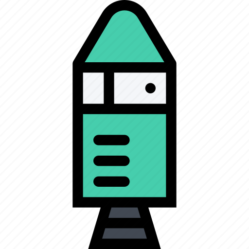 astronaut, future, planet, rocket, science, space icon