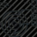 data, model, orbit, planetary, solar, star, system icon