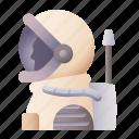 astronaut, cosmonaut, people, profession