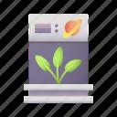 plants, space, experiment, science