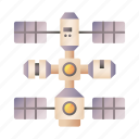 space, station, satellite, transportation