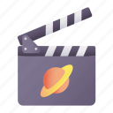 space, movies, clapper, cinema