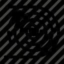 abstract, circulation, cycle, disruptive, endless icon
