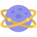 double, ring, world, astronomy, saturn