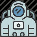 astronaut, astronomy, helmet, person, space