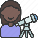 astronomer, astronomy, person, avatar, research